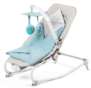 Kinderkraft Leżaczek FELIO Light Blue