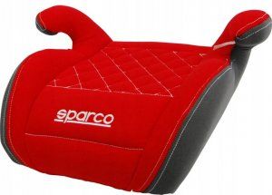 Fotelik SPARCO F100K 15-36 kg - Pikowany / Red