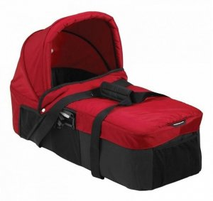 Gondola Kompaktowa Baby Jogger City Mini / Double - Crimson / Grey
