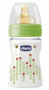 Chicco Butelka Plastikowa WELL-BEING 150 ML 0m+ Zielona