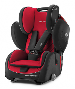 Fotelik RECARO Young Sport HERO 9-36 kg - Racing Red