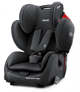 Fotelik RECARO Young Sport HERO 9-36 kg - Performance Black