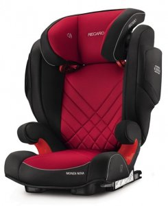 Fotelik RECARO Monza Nova 2 SeatFix 15-36 kg - Racing Red
