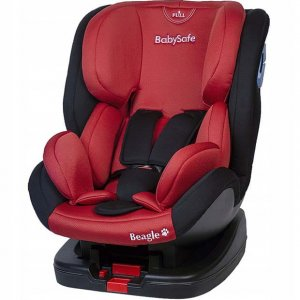 Fotelik BabySafe Beagle 0-25 kg - Red-Black