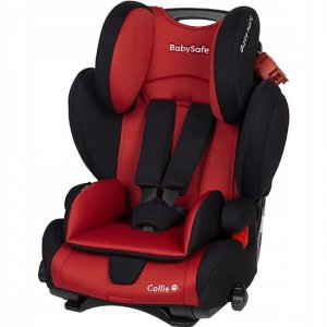 Fotelik BabySafe Collie 9-36 kg - Red-Black