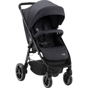 Wózek spacerowy Britax B-Agile M - Black Shadow / Black