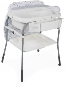 CHICCO Wanienka z przewijakiem  Cuddle & Bubble - Cool Gray