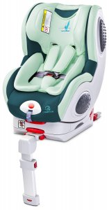 Fotelik Caretero Champion Isofix 0-18 kg - Mint