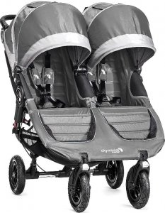 Wózek Baby Jogger City Mini Double GT - Steel Grey