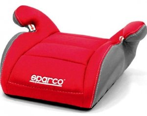 Fotelik SPARCO F100K 15-36 kg - Red Grey