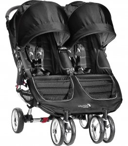 Wózek Baby Jogger City Mini Double - Black / Gray