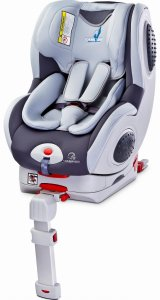 Fotelik Caretero Champion Isofix 0-18 kg - Grey