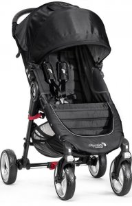 Wózek Baby Jogger City Mini 4W - Black Grey