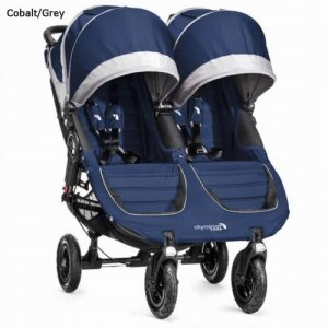 Wózek Baby Jogger City Mini Double GT - Cobalt Grey
